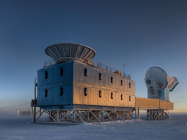 Cold truth ... the Dark Sector Lab (DSL), located about a kilometre from the Geographic S