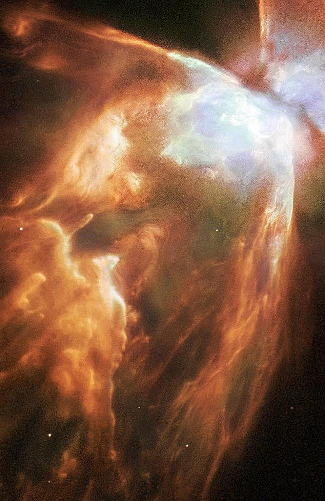 Life and death ... NASA celebrates the reboot of COSMOS by releasing images including thi