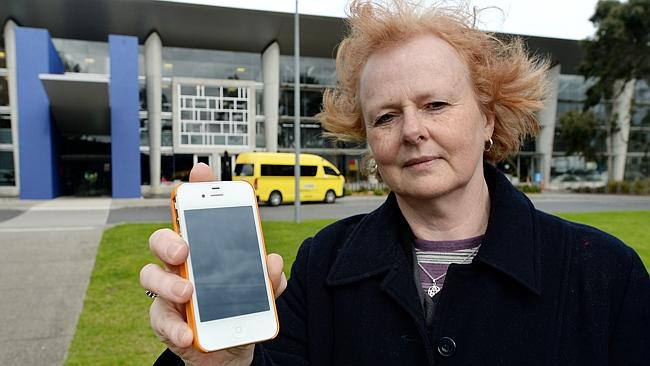 Regular swimmer Jane Turton wants mobile phones banned at Monash pools, after she saw a m