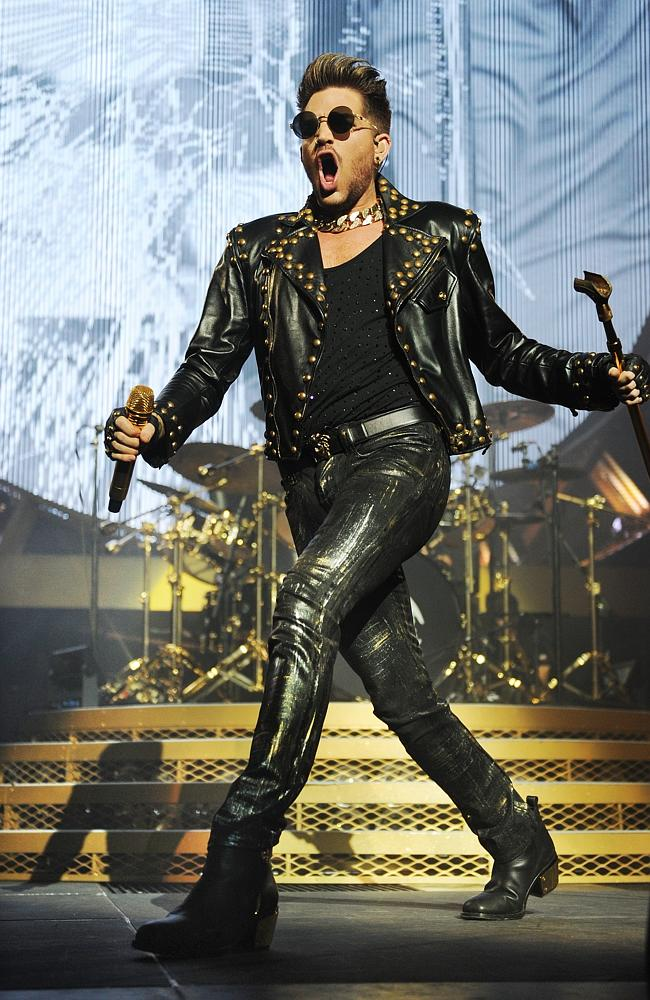 Adam Lambert. Photo: Jackson Flindell