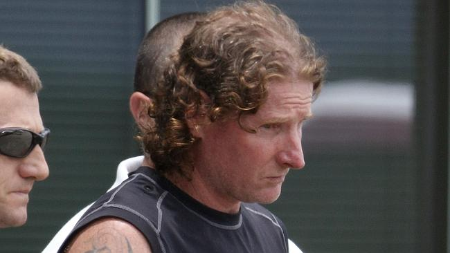 Convicted killer Luke Hunter, 42, back in police custody after more than a decade on the