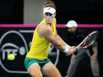 http://www.couriermail.com.au/sport/tennis/sam-stosur-reveals-shes-suffered-two-years-of-pain-and-hampered-training-due-to-foot-injury/story-fnii0pkt-1227102892679?nk=1bba2ec720e8c2e50aeb296fb96a0144