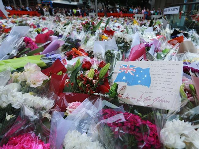 There seems no end to the tributes at Martin Place, which has now spread to a second site