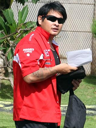 Waiting ... Andrew Chan still has not heard the outcome on his clemency bid. Picture: Sup