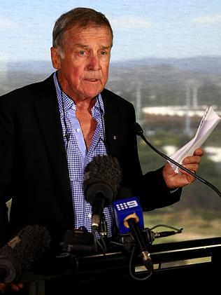 Gold Coast Skyride chairman Terry Jackman admits the Springbrook project is dead without