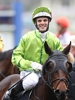 Jockey Noel Callow. Photo: Tim Carrafa.