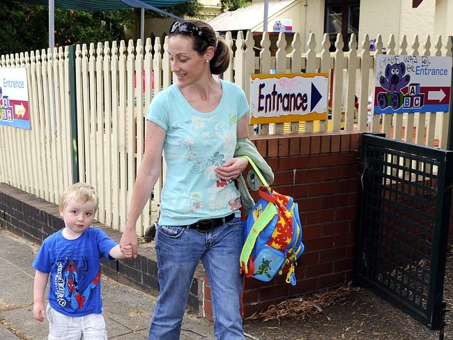 The collapse of ABC Learning left many parents hanging. Photo: Craig Wilson