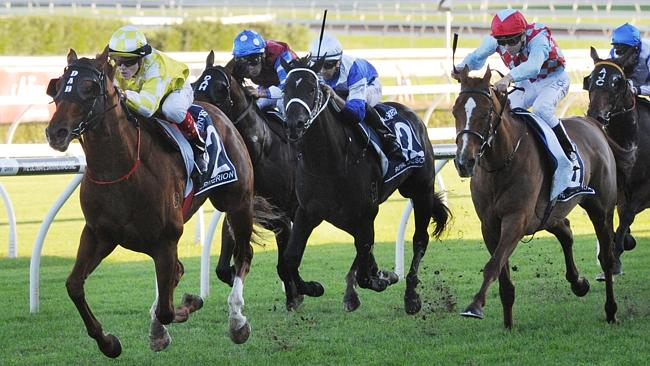 Three-time Group 1 winner Criterion easily wins the $4 million Longines Queen Elizabeth S