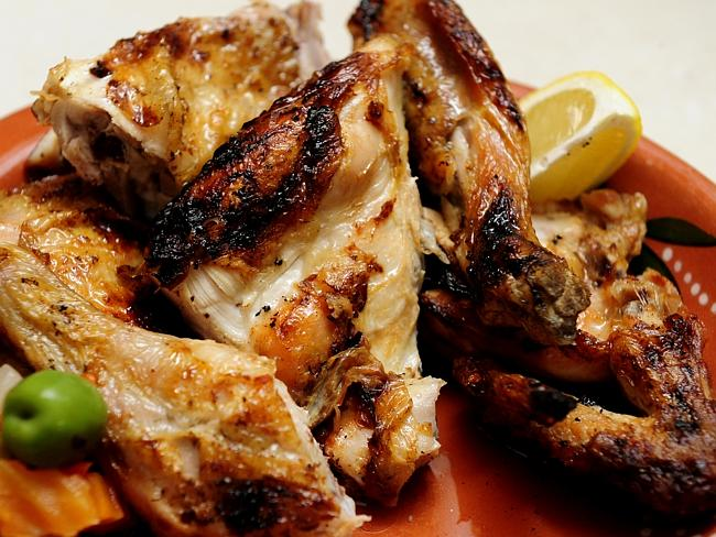 The delicious Portugese chicken served at Frango. Picture: John Appleyard