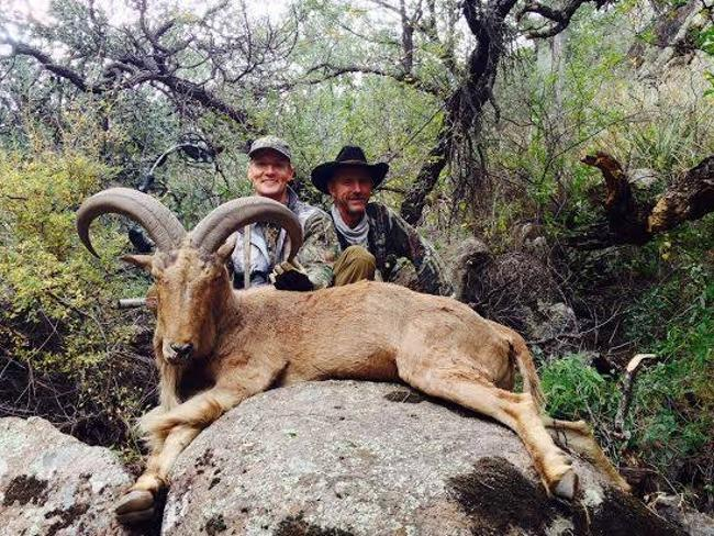 Collector ... Walter Palmer poses with another of his kills. Picture: Facebook/Trophy Hun