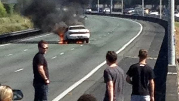 Naked driver causes road-rage chaos on Brisbane's M1 | The ...