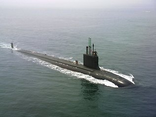 Virginia-class attack submarine