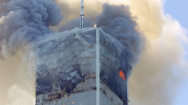 The North Tower was hit first and hit highest, leaving people above the impact zone no chance of escape