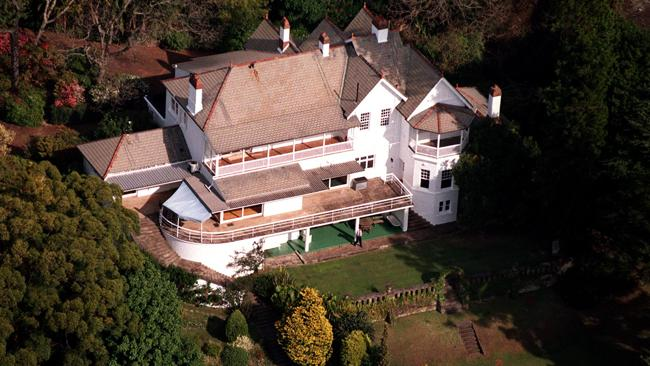Aerial view of 'Elaine'