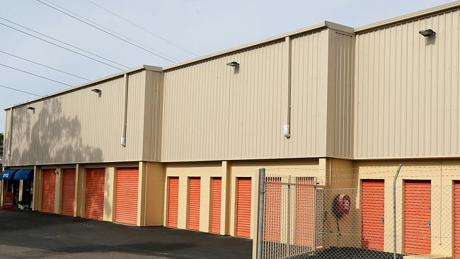 The The self storage units where Jamie Gao is believed to have been killed