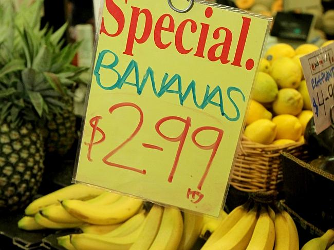 Remember when bananas cost $2.99 a kilo?
