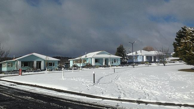 tarraleah tasmania snow 10th august 2014