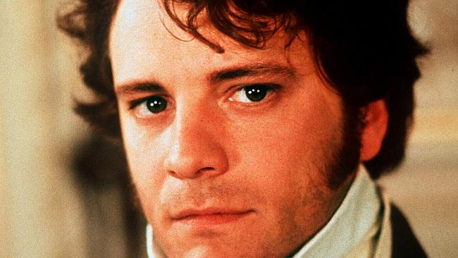 Colin Firth as Mr Darcy in the BBC production of Pride and Prejudice.