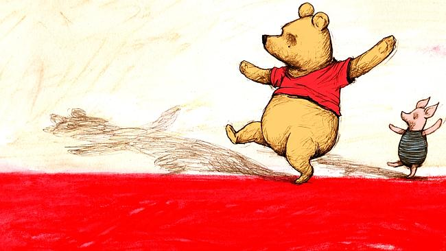 Pooh is a very wise bear. Artwork: Bentley