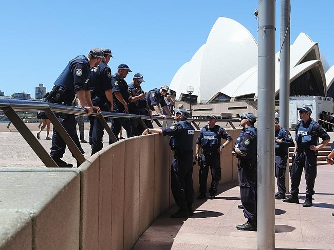 Major landmarks in Sydney, including the Sydney Opera House, have been evacuated as polic