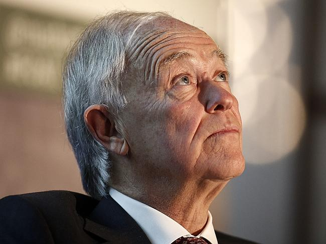 Expressing scepticism ... Tim Clark, president of Emirates Airline. Picture: Simon Dawson