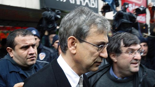 Turkish Nobel laureate Orhan Pamuk barely escaped jail for discussing the Armenian genoci