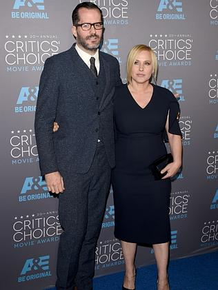 Eric White and actress Patricia Arquette.