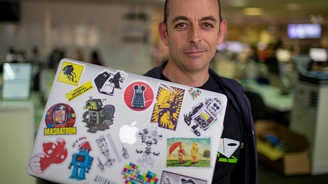 MYOB chief technology officer Simon Raik-Allen is excited about the future.