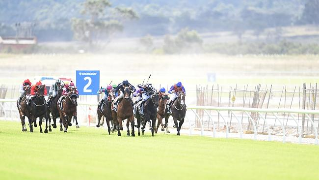 Damien Oliver, who rode a double, was quick to label the carpet-like turf surface and the
