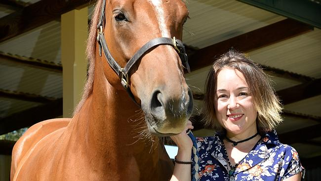 Lucy Moody's family's winery is named after a horse called Somerled which won the Oakbank