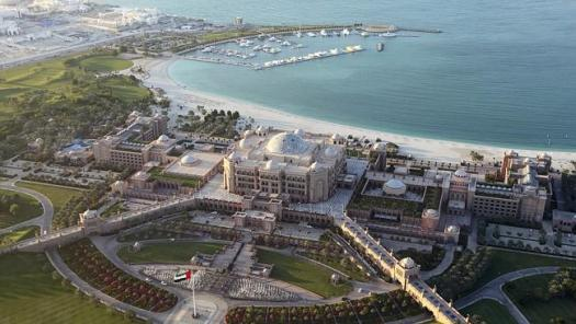 Abu Dhabi is lavish and luxurious and it's one of the richest cities in the world.