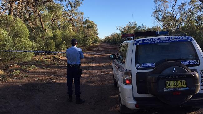A mobile phone helped officers to find the remains. Photo: Chris McKeen