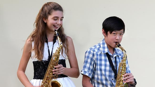 TOP TALENT: Winner of the woodwind solo 12-14 years section at the Cairns and District Ju
