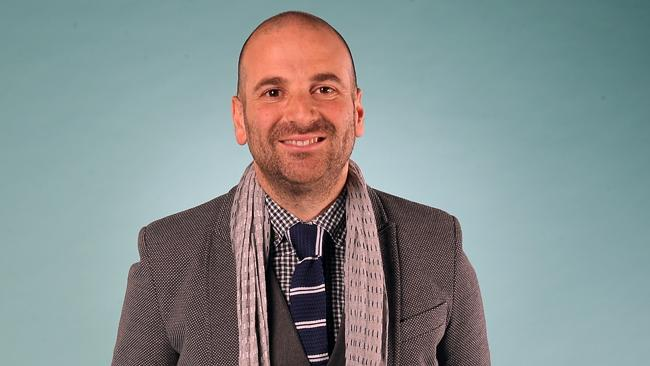 George Calombaris was asked how much cash he was taking from Greece. Picture: Alex Coppel