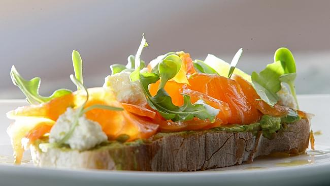 Avocado and salmon are also great for energy and muscle repair. PICTURE: ANNA ROGERS