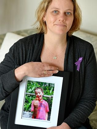 Chirnside Park mother Katherine Shields lost her son Joseph to sudden unexpected death in