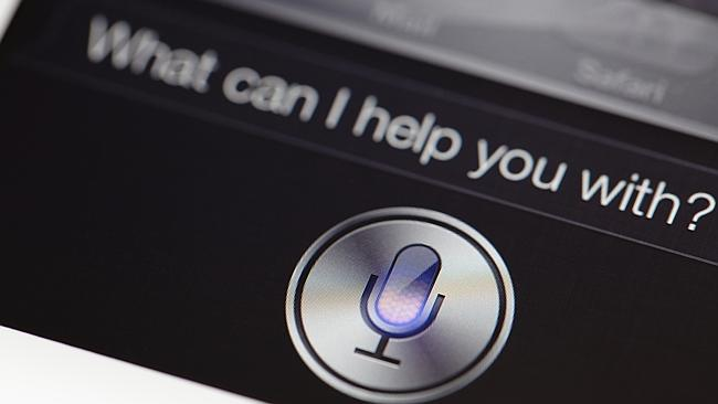 Apple's voice ... Apple's personal assistant Siri gets an upgrade in iOS 9 beta.