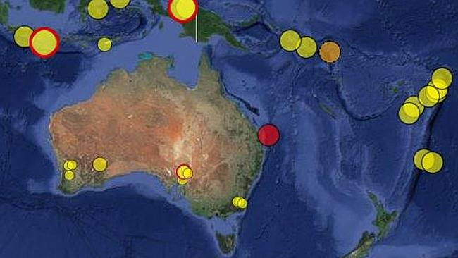 A 5.3 magnitude earthquake hit off the Queensland coast this morning, shaking the Gold Co