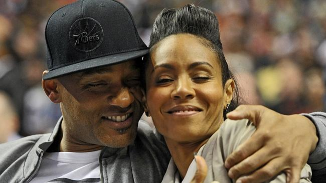 Will Smith and his wife Jada Pinkett Smith.