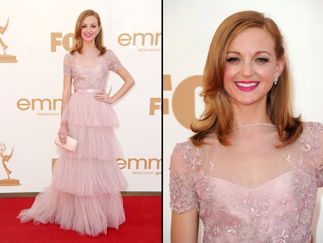 Jayma Mays 2011 Emmy Awards