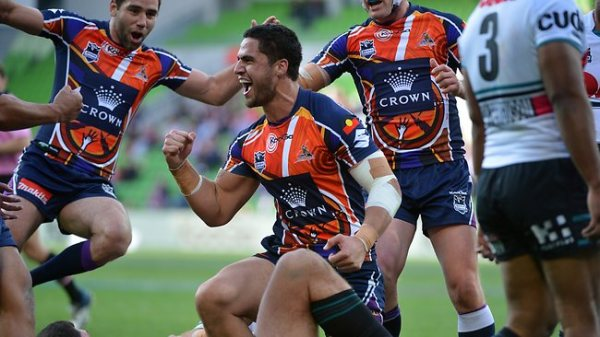 Storm back to basics for a 40-point thumping of Pitiful ...