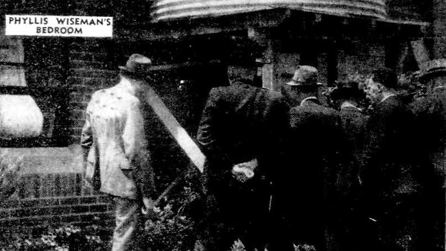 Charles Taylor at scene of George Green case