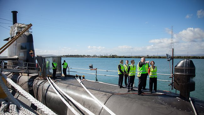 Julia Gillard on Collins-class submarine