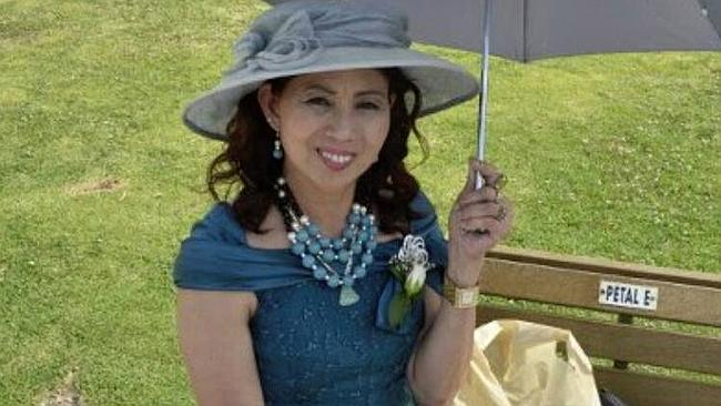 Reina Salvo Nelson, a Melbourne woman missing in the Philippines after the typhoon.