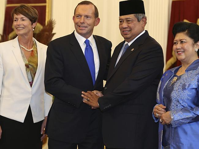 Indonesian President Susilo Bambang Yudhoyono and his wife Ani were targeted by Australian intelligence agencies in 2009. Pic...