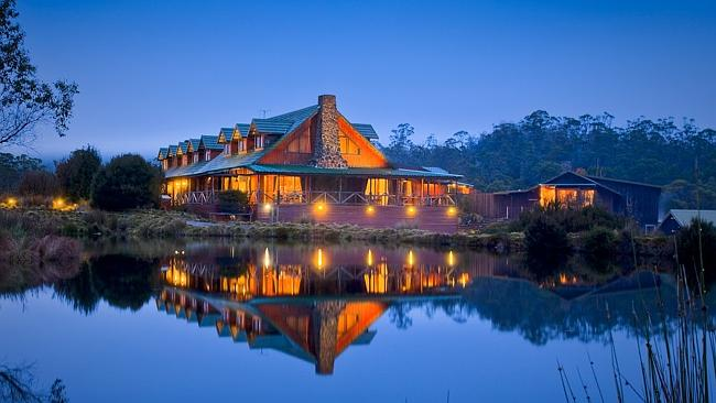 Cradle Mountain Lodge offers luxury in the wilderness. Image courtesy of Cradle Mountain