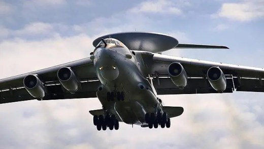 Eye in the sky ... The A-100 AWACS command-and-control aircraft. Source: Supplied