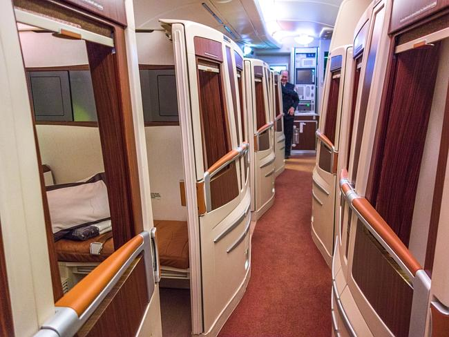 Better than first class. Picture: Derek Low
