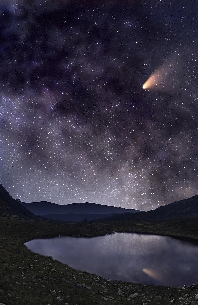 So what do comets have to do with it?