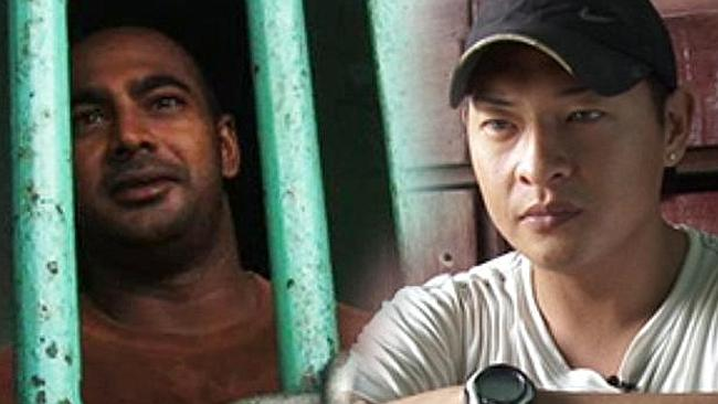 Myuran Sukumaran and Andrew Chan are behind bars in Kerobokan jail, Bali.